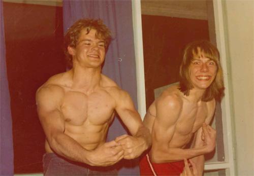 Johan Brink var oförståndig nog att utmana Pekka på en Bodybuildingstävling vid ett träningsläger i dåvarande Jugoslavien