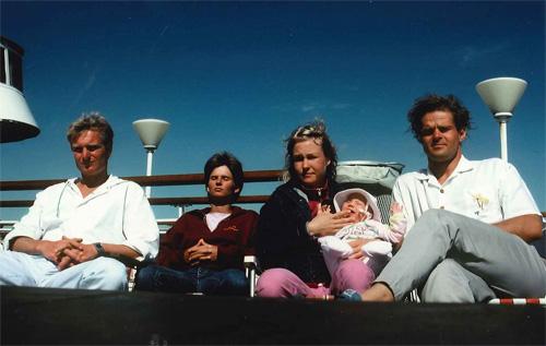 På väg till Gotland med en nyfödd Anjin