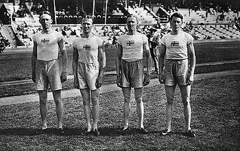 I det svenska silverlaget på 4x100m vid OS 1912 var 75% av laget ÖIS-are! Knut Lindberg, Charles Luther och Ivan Möller.