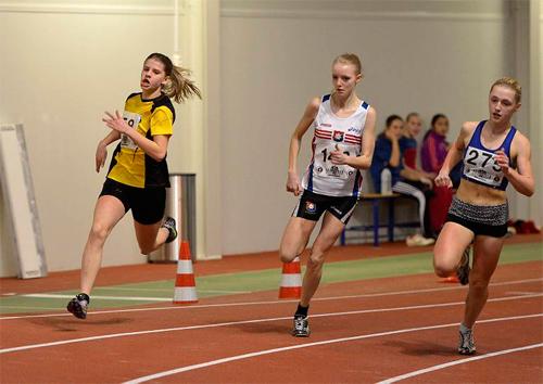 Sandra Jonson springer 60 meter på Julklappsjakten