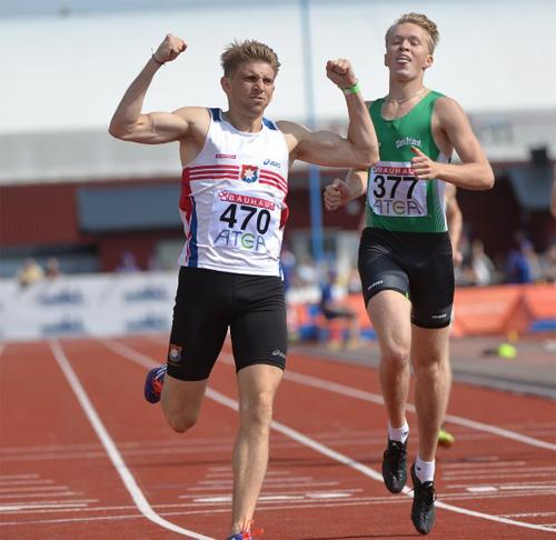 Felix Francois är försvarande mästare på 400 meter