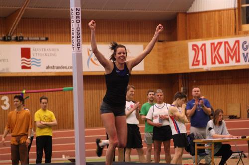 Hanna-Mia visade grym form och nosade på sitt personrekord