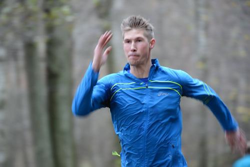En löpstark Daniel Skatt springer 5 km i Ruddalen på tisdag.