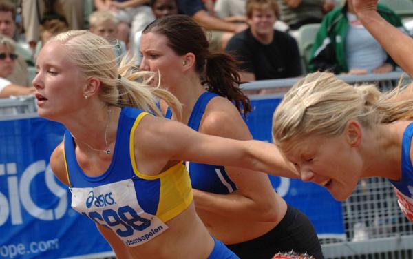 Kort om sport friidrott 1999 09 06